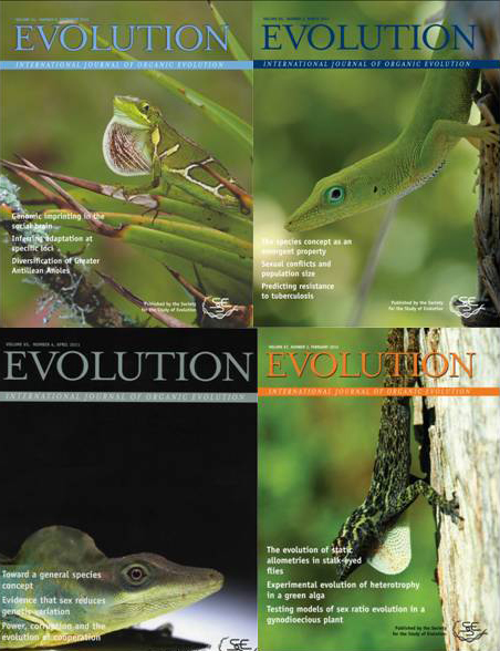 evolution covers 2013