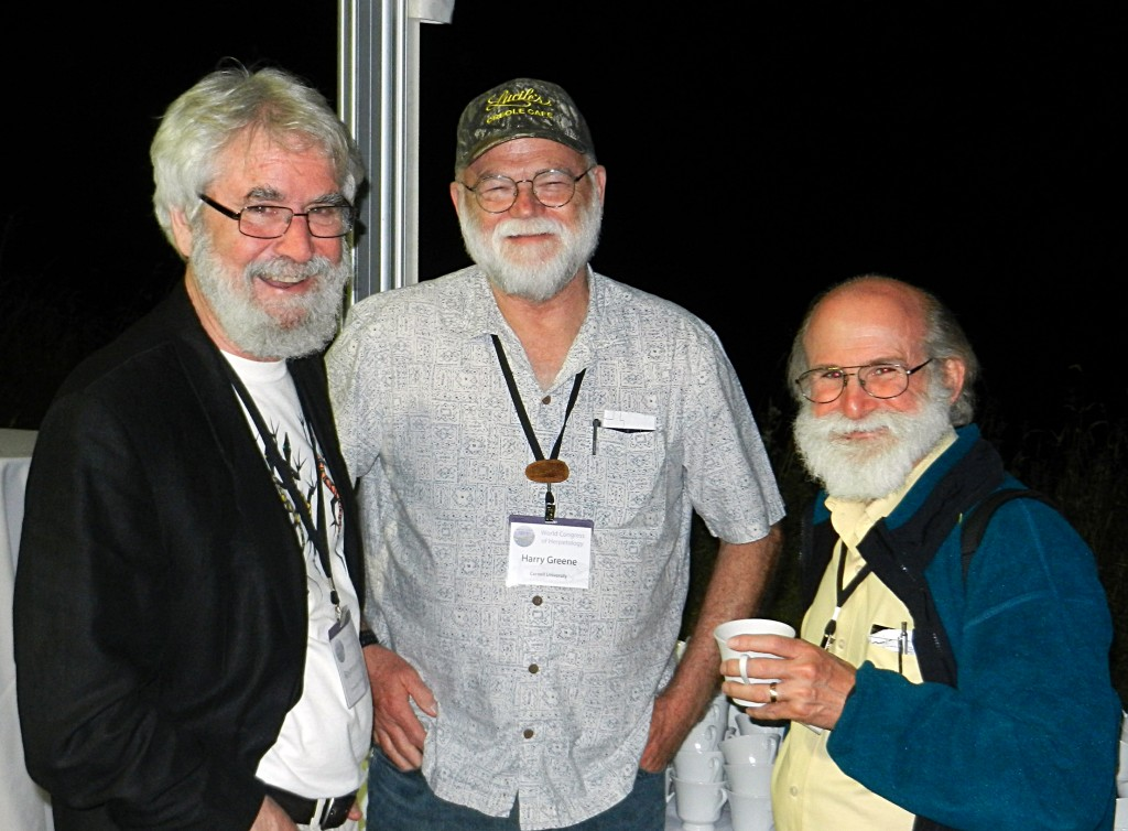 Ray Huey and friends at last year's World Herpetological Congress in Vancouver