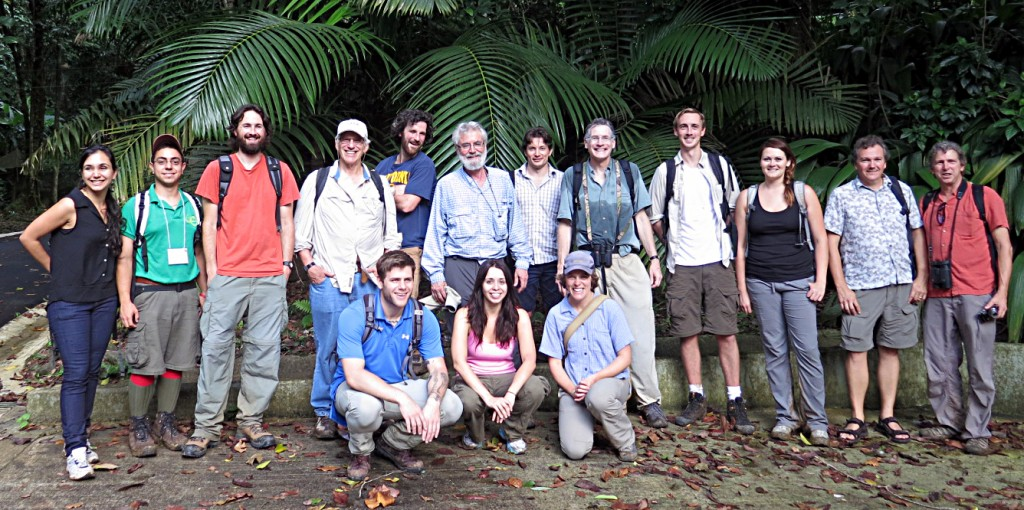 Have this many anole biologists ever been in the field together previously? And who are they?