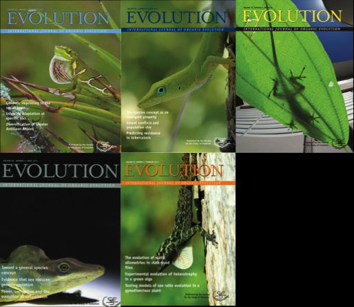 Evolution covers may 2016